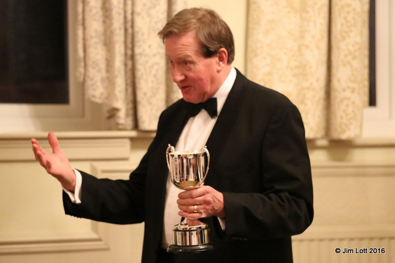 Andrew Owst who was presented with the SW centre's Chairmans Challenge Cup, for outstanding contribution to the running of SW centre events, behind the scenes and at the events themselves.