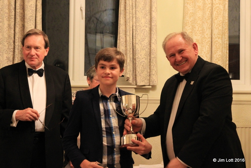 Oliver Lock was awarded the 'Mike Hawke Trophy' for the best young member. Oliver is the youngest ever winner of this trophy.