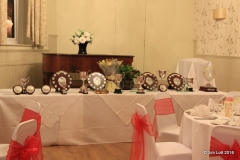 The awards to be presented
