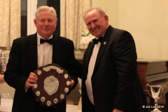 Rob Orford with the SW Centre Championship Class 4 (MG B) Shield. Rob also picked the fastest MG at the Hullavington Wessex Sprint and a 3rd in class at Wiscombe Hill Climb.