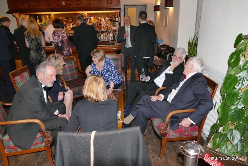 Tony and Val Blake, Victoria and Peter Jones, John and Sheila Thomas