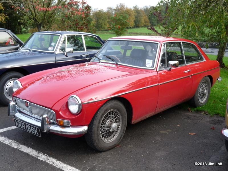 Martin Lewis's MGB GT