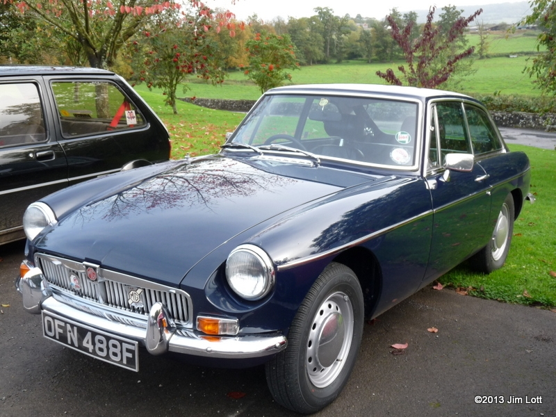 Edward and Easter Kirkland's MGB GT