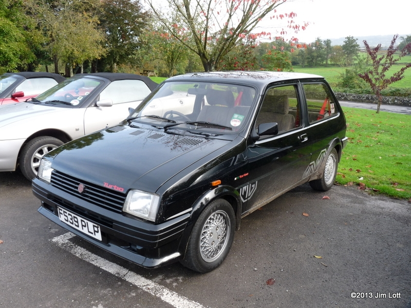 Jim Lott's MG Metro Turbo