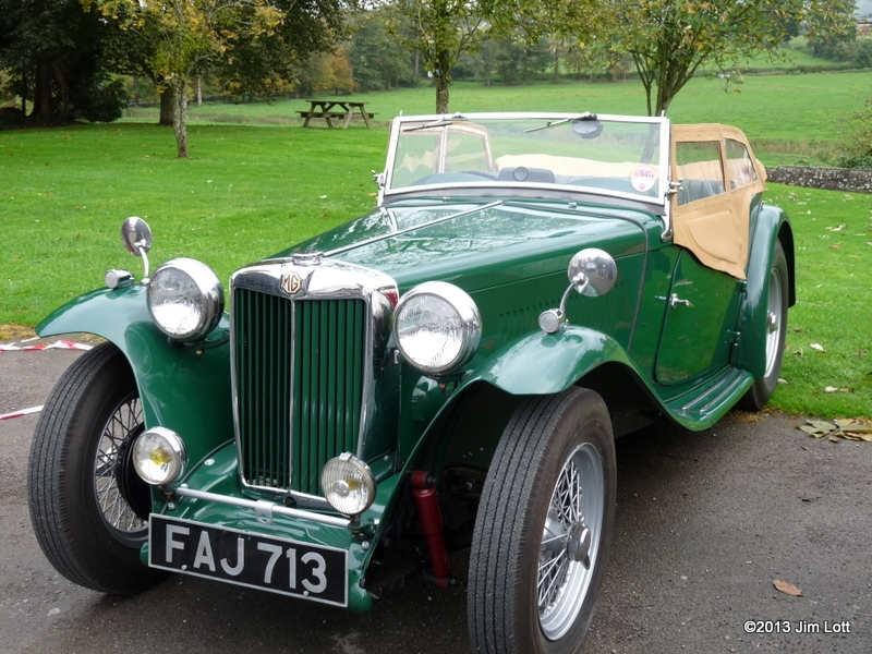 Steve and Linda Gardener's MG TC