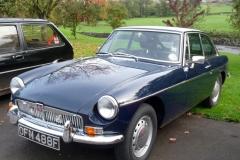 Edward and Easter Kirkland's MGB GT