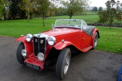 Dave Coppock's MG TC