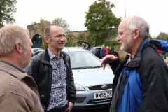 Martin Lewis, John Delafield and Dave Coppock