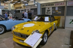 Rob Orford's MG B Roadster 'The Bumble Bee'