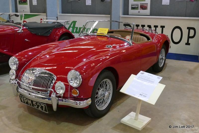 Kingsley Beck's MGA 1600