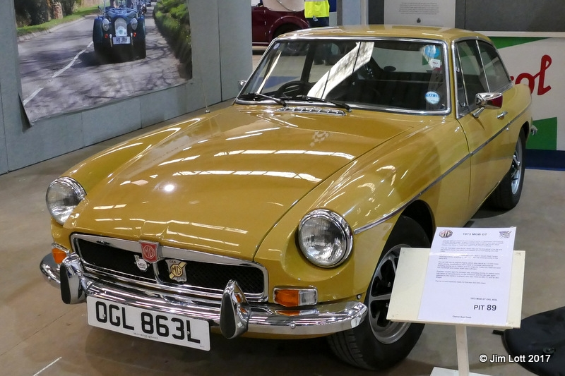 Sue Owst's MGB GT