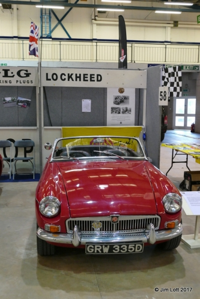 Paul Phillips MGB Roadster