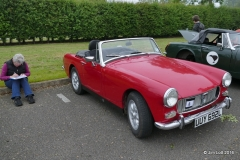 Ena Fox's (Lincs Centre) MG Midget