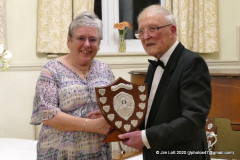 Sue Owst - Winner of the Lady Drivers Trophy