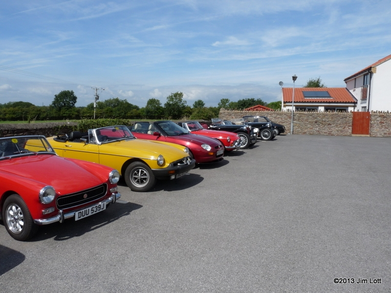 Iron Acton Natter 2013 – MG Car Club South West Centre