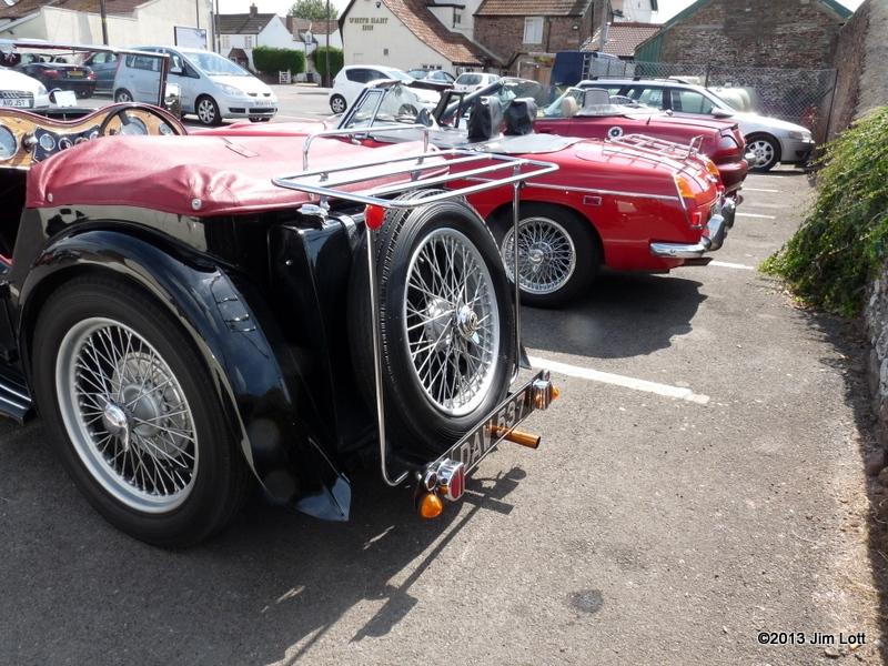 Ray-Loadmans-MG-TC-rear-view