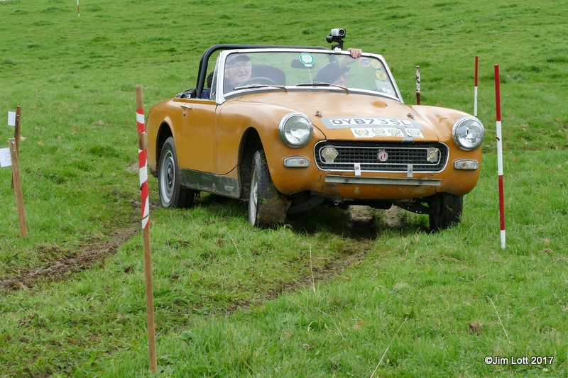 John York, MG Midget.