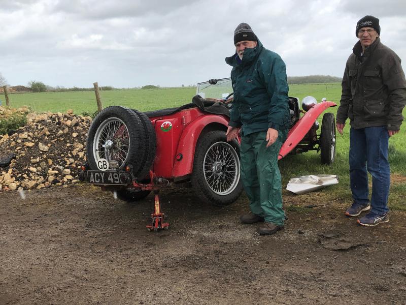 Running repairs to Frank Vautier\'s TC