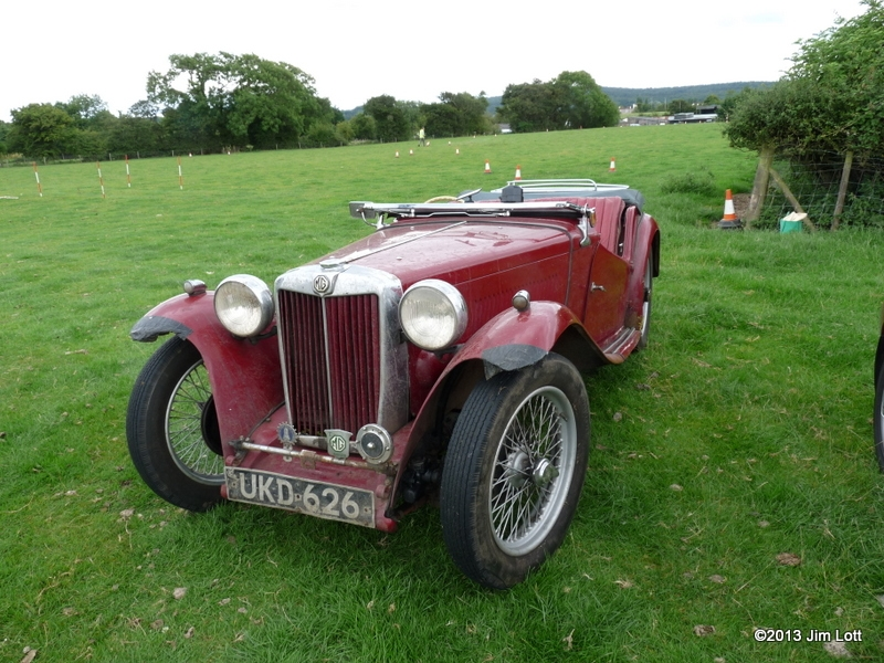 MG TC Driven by Peter Jones