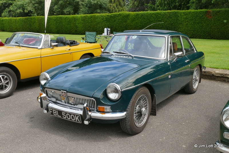 Terry and Sue Roberts MGB GT