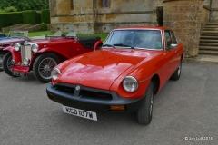 Bruce Weston (Driven by Gill Banham) MGB GT