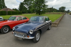 Edward and Easter Kirkland MGB GT