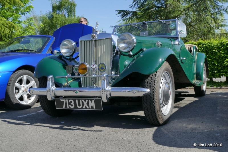 Vic and Sandra Lockley's 1952 MG TD