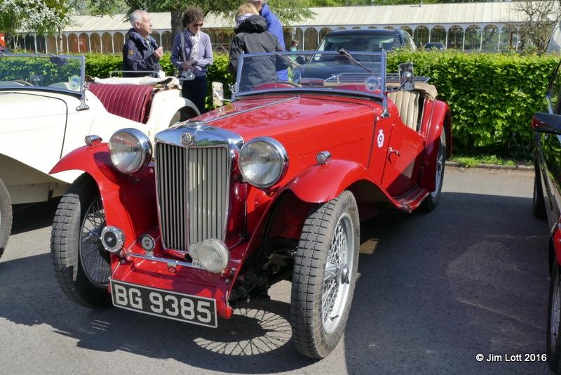 Julian and Alison Baldwin's 1946 MG TC