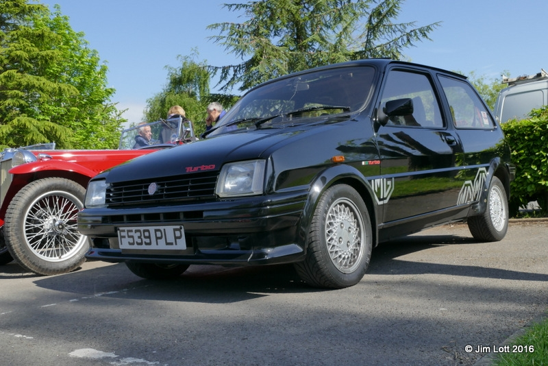 Jim Lott's MG Metro Turbo.