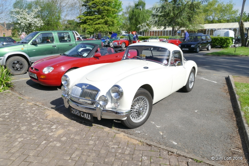 David and Ann Jacobs 1958 MG A Coupe
