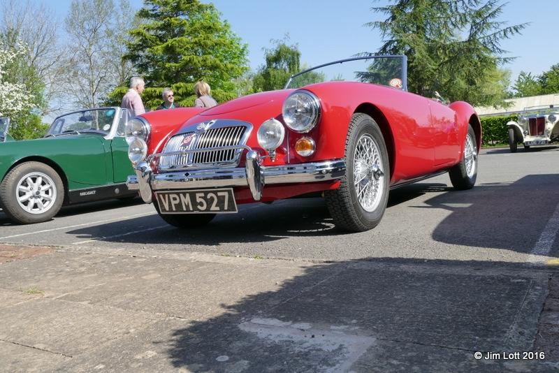 Kingsley Beck's 1960 MGA