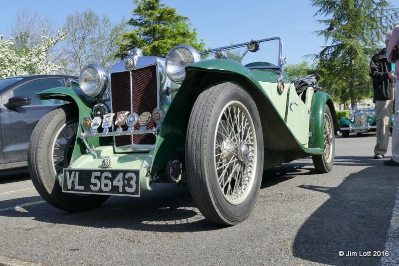 Terry and Freda Davies's 1934 MG PA