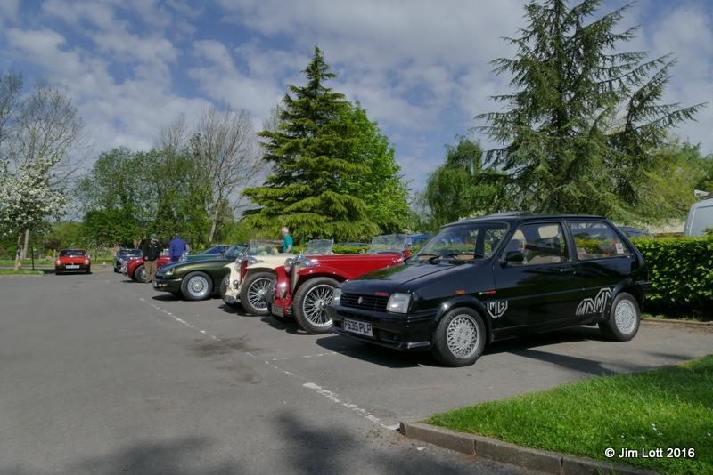 Part of the car park