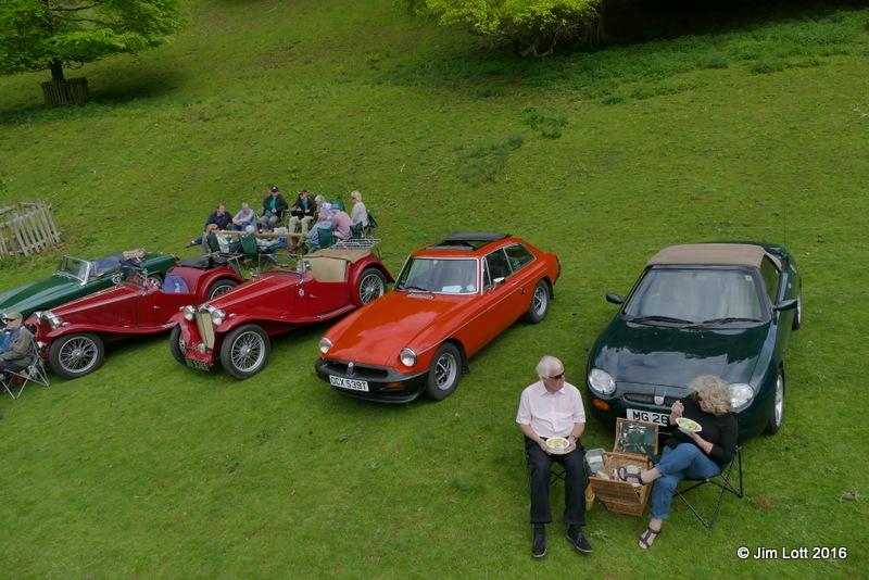 Picnics amongst the cars