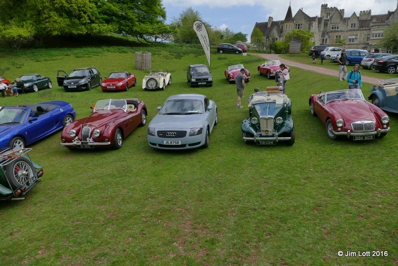 Jag XK120 Replica, Audi TT, MG TD and MGA