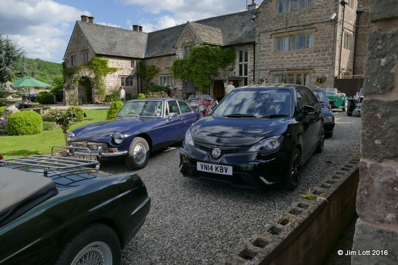 Edward Kirkland's MGB GT and Sophie Jones MG 3