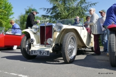 Andrew and Maureen Carnan's 1949 MG TC