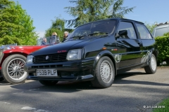 Jim Lott's MG Metro Turbo.