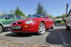 Dave and Valerie Starr's 1999 MGF