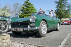 Andrew and Sue Owst's 1970 MG Midget