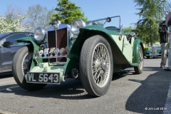 Terry and Freda Davies's 1934 MG PA