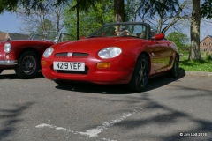 Sharron and Paul Bakers 1996 MGF