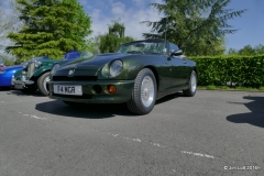 Roger Mole's 1996 MG RV8