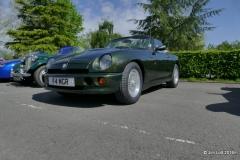 Roger Mole's 1996 MG RV8