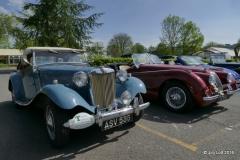 Sylvie and David Sillince's 1950 MG TD