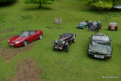Dave Starr's MGF, MG J2 and MG RV8