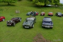 MG J2, MG RV8 and MGB GT