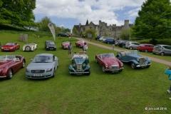 Audi TT, MG TD, MGA and MG TD