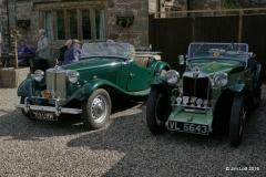 Vic Lockley's MG TD and Terry Davies's MG PA