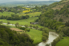 The River Wye and the landscape beyond